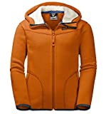 Jack Wolfskin K Navajo Valley Kinder Fleecejacke (Desert Orange, 128)