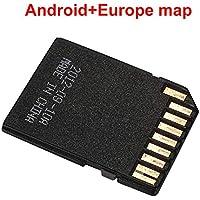 Haihuic Europa Mapa de navegación GPS Sistema Android Tarjeta de Memoria de 16GB para el Reproductor de DVD estéreo para el automóvil en el Tablero Navegador GPS