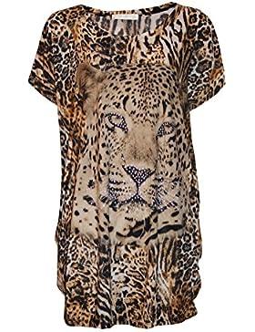 STEKOST - Camisas - Túnica - Animal Print - para mujer