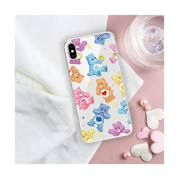 Miagon Clear Case for iPhone XS/X,Creative Cute Design Slim Soft Flexible TPU Back Cover Phone Case,Lovely Bear Miagon Please choose the right size of your phone before purchase.Only Perfectly Design for iPhone XS/ X The design will make your phone look fashionable and let you match any occasions. Allows Easy access to all buttons, controls and ports Made of Tpu.These material are selected for quality,strength,character.Prevent from finger prints and dirt.Raised lip and camera cutout offer lens & screen protection. Drop Protection, Shock Absorption, Anti- Slip, Anti-dust. 3