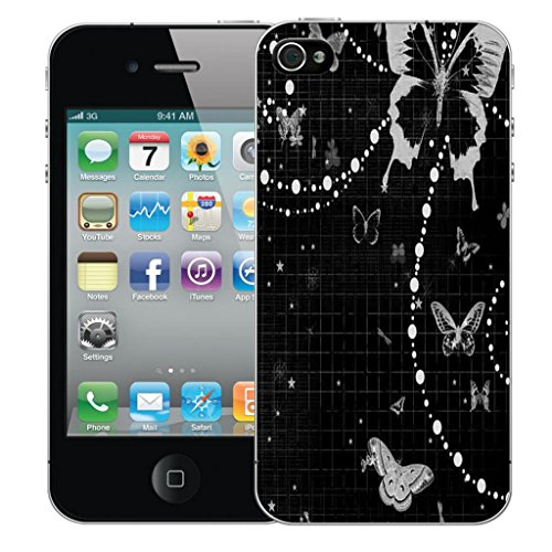 Mobile Case Mate iPhone 4s clip on Dur Coque couverture case cover Pare-chocs - mysterious owl Motif mystique