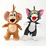 SCOOBA Combo Pack of Tom and Jerry Stuffed Soft Toy 30cm