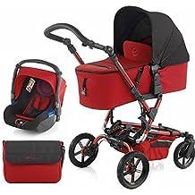 Jane Epic Micro Koos fórmula sistema de viaje adecuado desde el nacimiento -15kg), color rojo