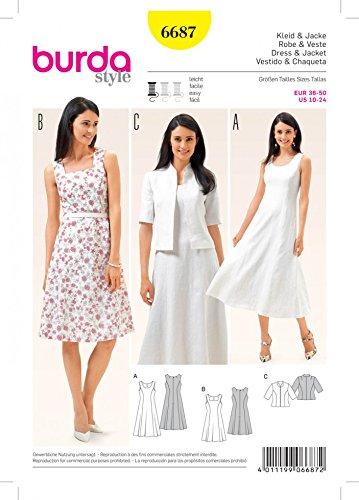 patron-de-couture-burda-mesdames-facile-6687-robes-et-sans-manches-courtes-pour-homme-guide-minerva-