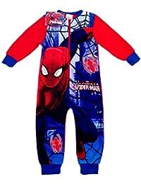 Niños Marvel Spiderman onesie- edad 2/3, 3/4, 5/6, 7/8años
