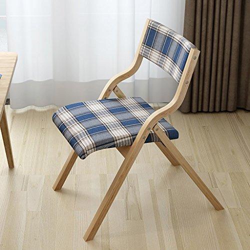 Tuch Truss Klappstuhl Stuhl Stuhl Retro Computer Stuhl gebogene hölzerne Rücken Kreativ Schreibtisch und Stuhl
