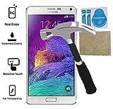 Evess Protector Pantalla Cristal Templado Samsung Galaxy Note 4 Maxima Proteccion Premium