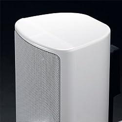 Canton Plus MX.3 2-Wege Regallautsprecher, 40/70 Watt, weiß hochglanz (Paar)