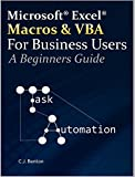 Excel Macros & VBA For Business Users - A Beginners Guide