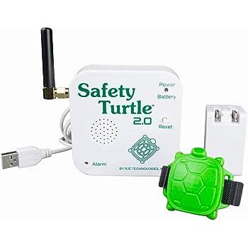 Alarme de piscine enfant - Kit bracelet + base réceptrice - Safety Turtle 2.0
