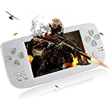 Handheld Game Console,YANX Portable Video Game Console Game Player Gifts For Boys Girls Kids Children (k3white)