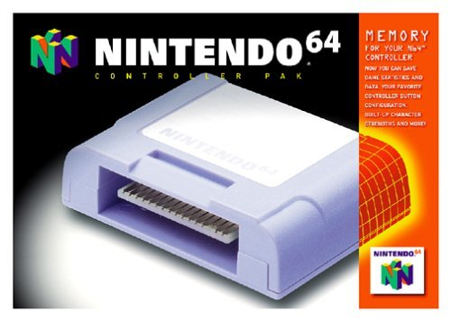 Nintendo 64 Controller Pak by Nintendo (64 Controller Pak)