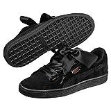 Puma Suede Heart Artica Wn's, Sneakers Basses Femme, Noir Black 02, 38 EU