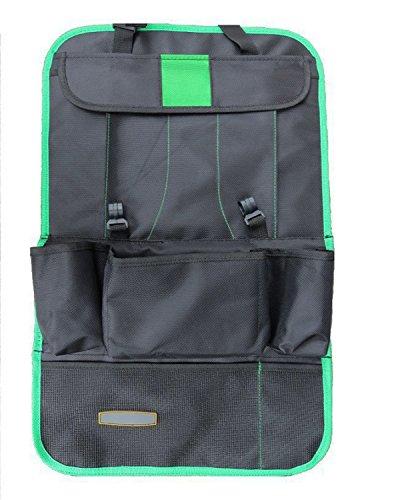 TutuShop Rückenlehnenschutz | Wasserdichter Rücksitz Organizer Auto Rücksitz Organizer Rückenlehnen Tasche - Grün