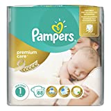 Pampers Premium Care New Born 1 Gr. 2-5 Kg Sparpack 264 Windeln in 3 Packungen