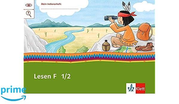 Lesen F 12 Arbeitsheft Klasse 12 Mein Indianerheft Amazonde