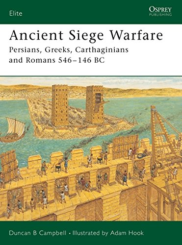"Ancient Siege Warfare: ""Persians, Greeks, Carthaginians and Romans 546-146 BC""-"