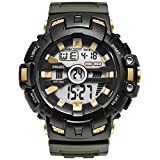 Blisfille Armbanduhren Herren Wasserdicht Wasserdicht Herrenuhr Dunkel Grün Outdoor Sportuhr Armbanduhr Automatikuhr