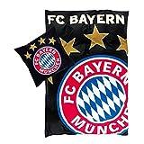 Bertels 17408 FC Bayern München Bettwäsche Glow in the dark