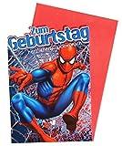 Kindergeburtstag Geburtstagskarte Spiderman - Zum Geburtstag Herzlichen Glückwunsch