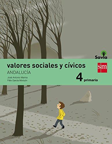 Valores sociales y cívicos 4 primaria savia andalucía
