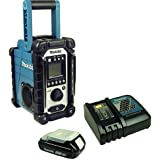 Makita DMR 107 Baustellenradio mit Akku + Ladegerät