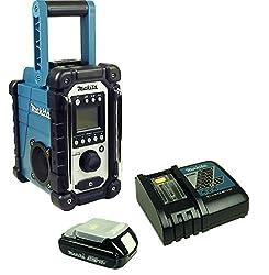 Baustellenradio mit Akku und Ladegerät-DMR 107-Makita