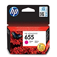 HP 655 Ink Cartridges Set - Black, Cyan, Magenta and Yellow