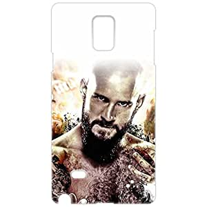 a AND b Designer Printed Mobile Back Cover / Back Case For Samsung Galaxy Note 4 (SG_N4_3D_1496)