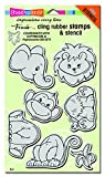 #3: Stampendous Cling Stamps & Stencil 5