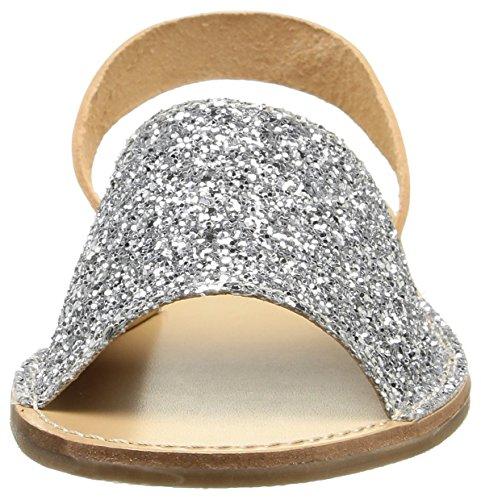 Pieces Evey, Sandales femme Argent (Silver)