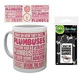 Set: Rick and Morty, Plumbus, Heute Auf Wie Es Gemacht Wird Foto-Tasse Kaffeetasse (9x8 cm) Inklusive 1 Rick and Morty Fan-Schlüsselanhänger (6x4 cm)