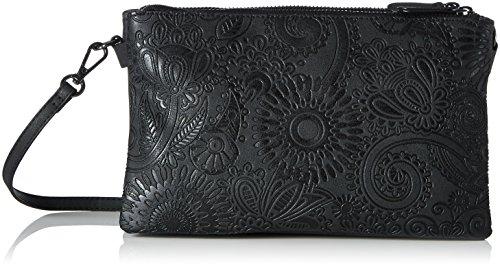 s.Oliver (Bags Damen 39.710.94.6034 Umhängetasche, Black/Schwarz, 3x15x24 cm