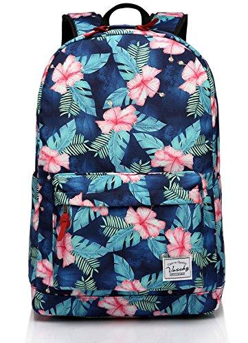 Imagen de  floral, vaschy  de la escuela de daypack de peso ligero para adolescentes bolsas de viaje alternativa