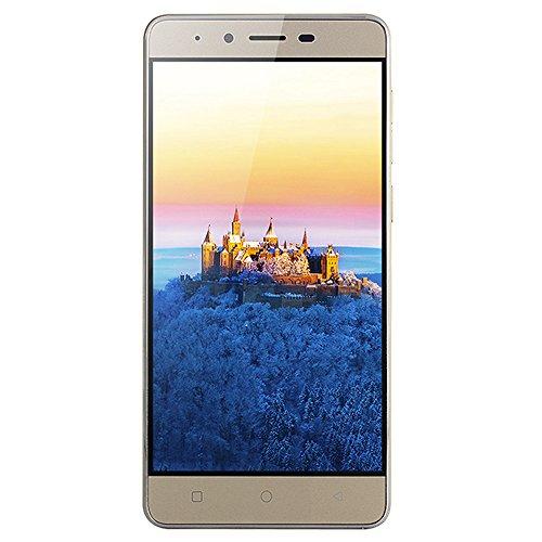 "MATE9 - Android 5.1-5.0 Zoll MTK6589 Quad-Core 512 MB + 4G Smartphone\""ultra-dünne GSM 3G WiFi Dual-Karte Kamera, ein sehr kostengünstiges Mobiltelefon (Gold)"