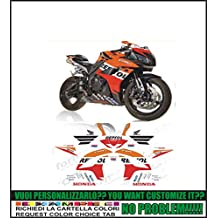 GRAPHICSMOTO h428 Kit adesivi decal stickers HONDA CBR 600 RR REPSOL 2007 (ability to customize