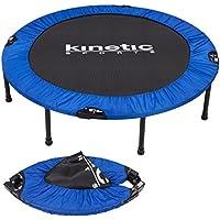 Fitness Trampolin Kinetic Sports Indoor Tramplolin Home Trampolin Minitrampolin, Durchmesser 122 cm faltbar