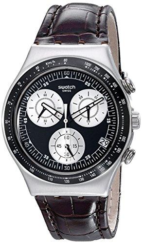 Swatch Orologio Analogico Unisex con Cinturino in Nylon YCS572