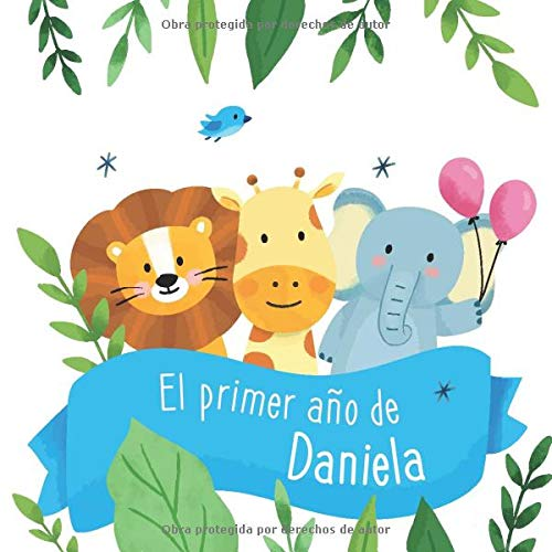 niela: Álbum de tu bebé para completar con las experiencias vividas durante su primer año ()