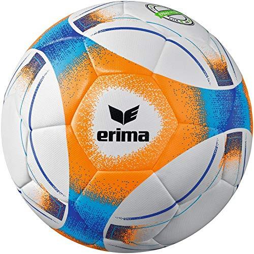 Erima Unisex- Erwachsene Hybrid Lite 290 Fußball, neon orange/blau, 5