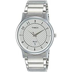 Timex Classics Analog Silver Dial Men's Watch - TI000R423
