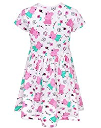 Peppa Pig Girl's Short Sleeved Dress by Blues Clothing
