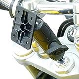 20.5- 24,5 mm ausgefahren Motorrad Gabel Befestigungsring für TomTom Rider 2 Rider Urban Rider Rider Pro Rider V5