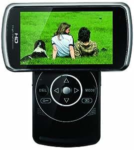 Yashica CMR35 Caméscope à mémoire Flash Port SD/Memory Stick Full HD 5 Mpix Chocolat