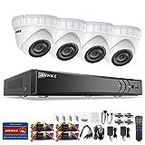 Best ANNKE Dvr Cameras - ANNKE 8CH 1080P HD-TVI H.264+ DVR 4 Caméras Review