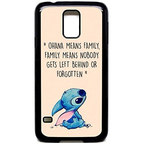 Galaxy S5Telefon Fall Ohana means family Lilo Stich Zitat