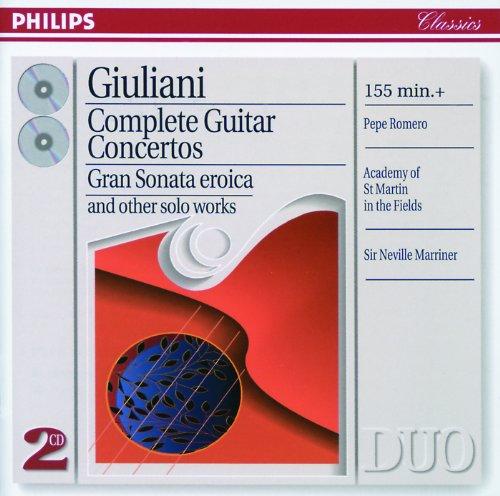 Giuliani: Complete Guitar Concertos (2 CDs)