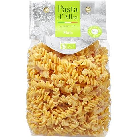 Glutenfrei Nudeln Pasta d'Alba Bio Probier-Set 6 verschiedene Sorten (1x Mais 500g, 1x Hanf 250g, 1x Kastanie 250g, 1x Quinoa 250g, 1x Dreifarbig 250g, 1x Kurkuma
