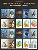 Poster Collection: Vector Life Winter Night Forest Vector Artwork Animals