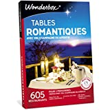 WONDERBOX - Coffret cadeau - TABLES ROMANTIQUES AVEC VIN, CHAMPAGNE OU APÉRITIF